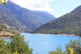 Lake Serre-Poncon