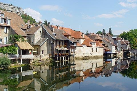 Photo of Ornans in Doubs