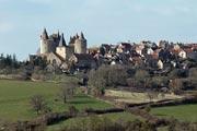 Chateauneuf-en-Auxois village