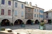 Lauzerte village