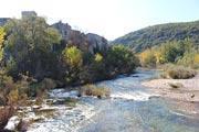 Montclus village