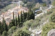 Sainte-Agnes village