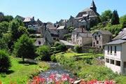 Treignac village