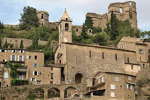 Photo of Montbrun-les-Bains in Drome