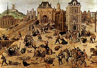 Saint Bartholomew Day  Massacre, 1572