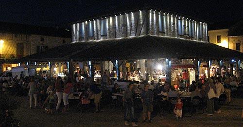 Villereal summertime night market (marché nocturne)