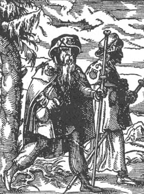 pilgrims in france