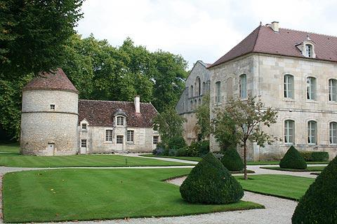 Photo of Fontenay Abbey in Cote d'Or