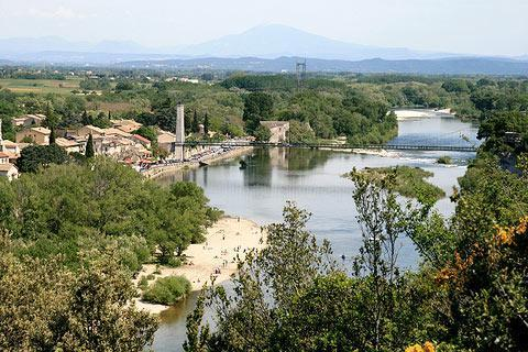Photo de Aiguèze (Languedoc-Roussillon region)