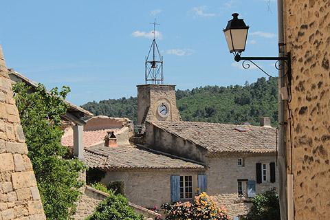 Photo of Ansouis in Luberon (Provence region)