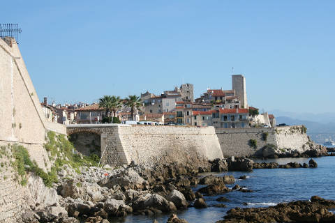 Photo of Antibes in Cote d'Azur (Provence region)