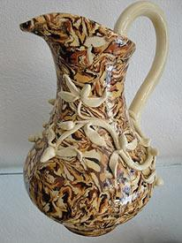 Example of the local pottery