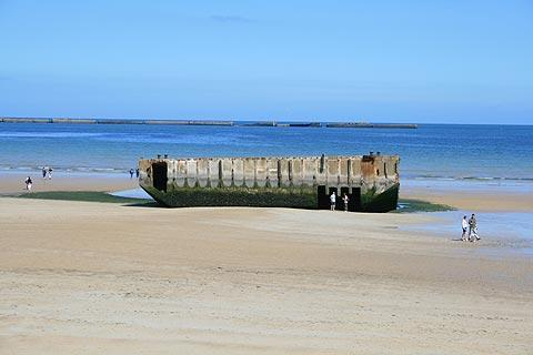 Photo of Arromanches in Calvados