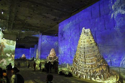 Photo of Carrières de Lumières in Baux-de-Provence (Provence region)