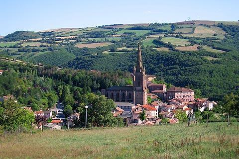 Photo de Camarès du département de Aveyron