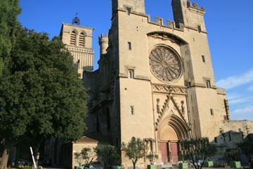 Cathedral in Béziers