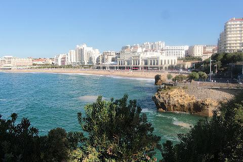 Biarritz and fishers  harbour