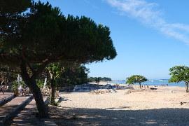 Arcachon's Pereire beach