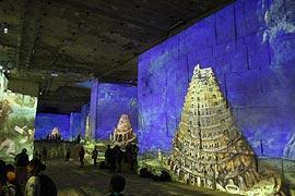 photo of Carrières de Lumières in Baux-de-Provence