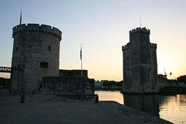 La Rochelle towers