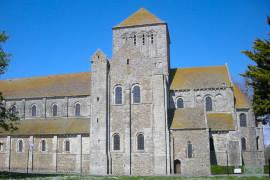 photo of Lessay abbey