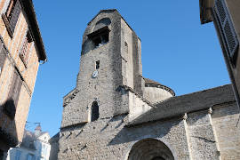Church Sainte-Croix in Oloron-Sainte-Marie