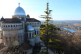Basilica Notre-Dame in Penne d'Agenais
