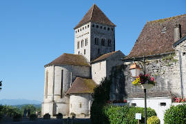 Sauveterre church of Saint-André