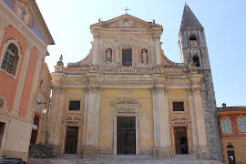 photo of Sospel cathedral