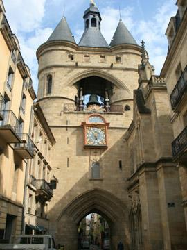 large belltower, Bordeaux
