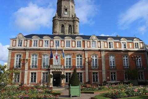 Photo of Boulogne-sur-Mer in North East France (Nord-Pas-de-Calais region)
