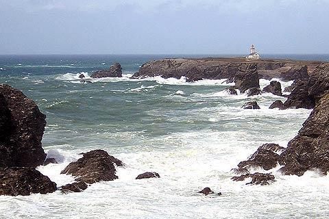 Photo of Belle Ile in Brittany coast (Brittany region)
