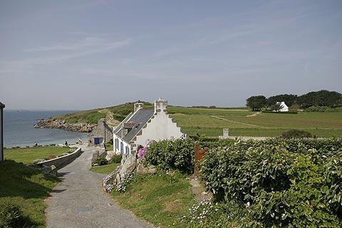 Photo de Ile-de-Batz en Brittany coast (Bretagne region)