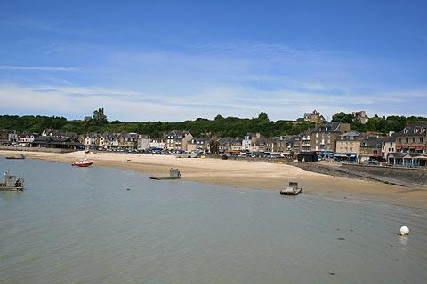 beach in Cancale, Brittany