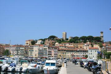 port and harbour in Cannes