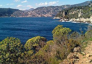 coast of cap ferrat