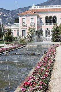 Gardens at Villa Ephrussi