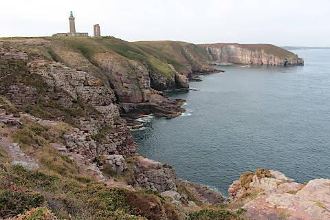 Photo of Cap Frehel in Brittany coast (Brittany region)