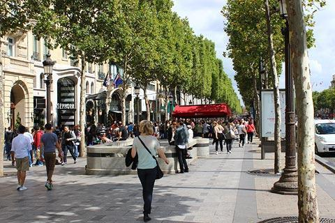 Photo of Champs-Elysees in Paris