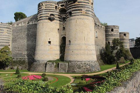 Photo of Chateau d'Angers in Maine-et-Loire