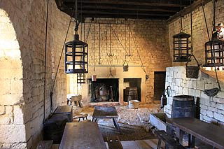 cuisine de Chateau de beynac