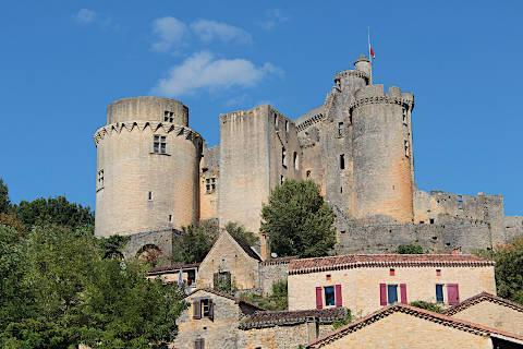 Photo of Chateau de Bonaguil in Lot-et-Garonne