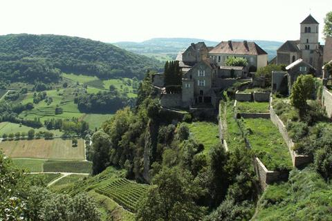 Photo of Chateau-Chalon (Franche-Comte region)