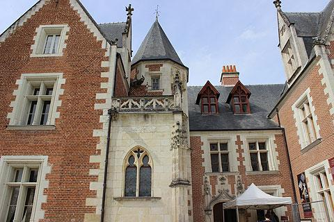 Photo of Chateau de Clos Lucé at Amboise in Indre-et-Loire