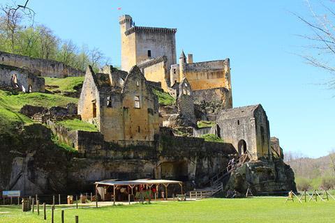 Photo of Chateau de Commarque in Dordogne