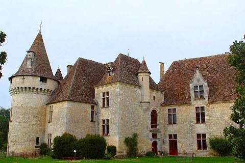 Photo of The Chateau de Bridoire in Dordogne