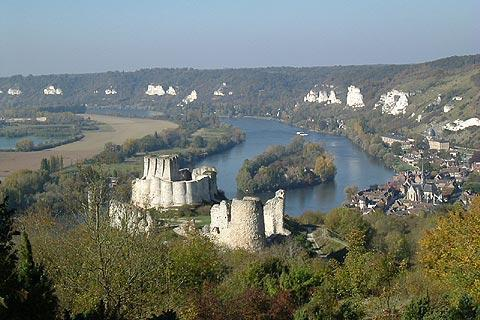 Photo of Chateau Gaillard in Eure