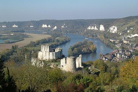 Photo of Chateau Gaillard in Eure