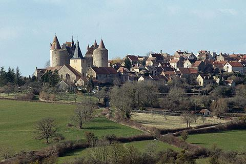 Photo of Chateauneuf-en-Auxois in Cote d'Or