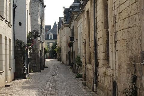 Photo of Chinon in Indre-et-Loire